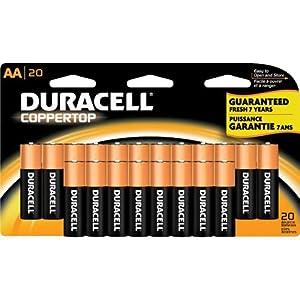 Amazon Aa Batteries : duracell coppertop aa batteries 20 count health personal care ~ Hamham.info Haus und Dekorationen