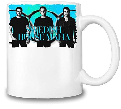 Swedish House Mafia Colorful Illustration Tazza Coffee Mug Ceramic Coffee Tea Beverage Kitchen Mugs By Genuine Fan Merchandise