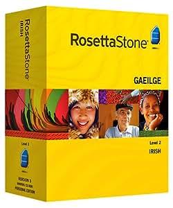 Rosetta Stone Irish Level 2 with Audio Companion