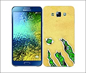 Galaxy Printed 2690 Ripped Folded Hard Cover for Samsung GRAND 2