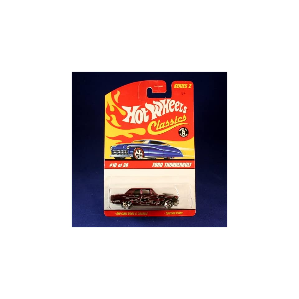 FORD THUNDERBOLT (PURPLE) 2005 Hot Wheels Classics 164 Scale SERIES 2 Die Cast Vehicle