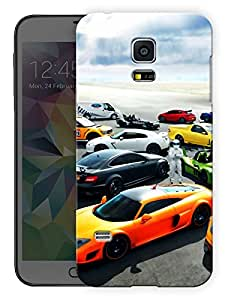 """Humor Gang Cars And Super Cars Printed Designer Mobile Back Cover For """"Samsung Galaxy S5 Mini"""" (3D, Matte, Premium Quality Snap On Case)"""