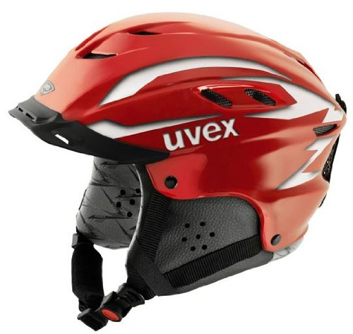 UVEX Kinder Skihelm x-ride junior motion, red deco, XXS - S (51 - 55), 5661103003