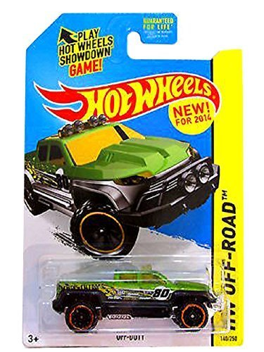 Hot Wheels - 2014 HW Off-Road 140/250 - HW Hot Trucks - Off-Duty (Green)