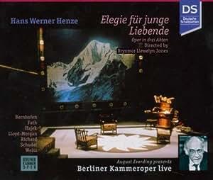 Henze:  Elegie für junge Liebende (Gesamtaufnahme) (deutsch) (Aufnahme Live Theatermanufaktur Berlin 1989)