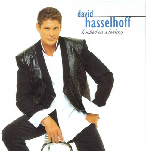 Original album cover of Hooked on a Feeling by David Hasselhoff