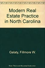 Modern Real Estate Practice in North Carolina Update by Fillmore Galaty