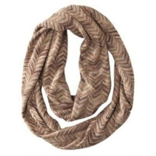 Missoni for Target Women's Infinity Scarf - Brown/Gold Chevron Zig Zag (Missoni For Target Scarf compare prices)