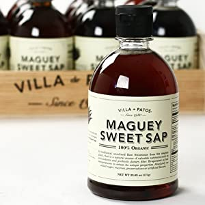 Organic Raw Maguey Sweet Sap Syrup (23.65 ounce)