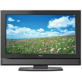 Haier HLC26 26 inch 720p LCD HDTV with Built-In DVD Player, 16:9 aspect ratio, 3D Comb Filter, 2 HDMI