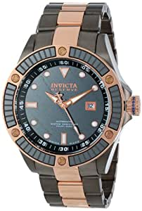 Invicta Men's 10615 Pro Diver Analog Display Swiss Automatic Two Tone Watch