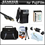 Must Have Accessory Kit For Fuji Fujifilm FinePix SL300, FinePix SL1000, S1 Digital Camera Includes Extended (2000 Mah) Replacement Fuji NP-85 Battery + AC/DC Rapid Charger + Deluxe Case + USB 2.0 Card Reader + Mini HDMI Cable + Screen Protectors + More