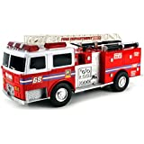 Velocity Toys Super Express Battery Operated Remote Control RC Fire Truck BIG Sized Ready To Run W/ Working Head...