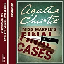 Miss Marple's Final Cases Audiobook by Agatha Christie Narrated by Joan Hickson