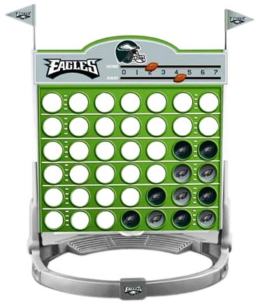 NFL Philadelphia Eagles Connect 4 at Amazon.com