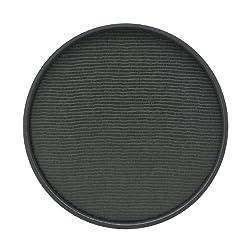 Kraftware Round Serving Tray, Black - 14 Inch