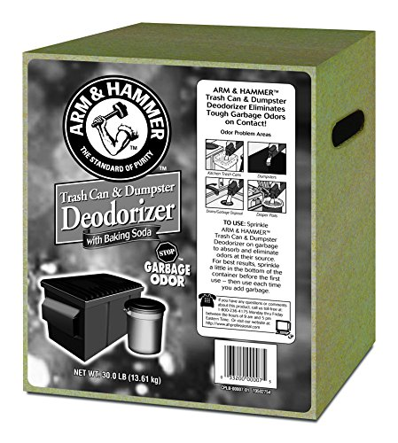 Arm & Hammer 33200-00007 Trash Can And Dumpster Deodorizer 30 Lbs front-776501