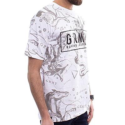 Grimey T-Shirt Ronin GRMY TEE White