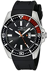 Invicta Men's 21392 Pro Diver Analog Display Quartz Black Watch