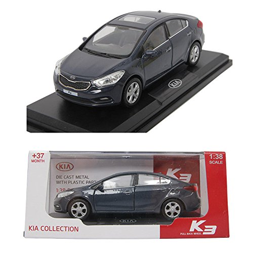 kia-k3-planet-blue-138-diecast-miniature-display-case-included-front-door-forte