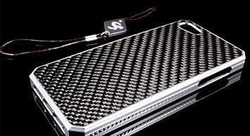 【クリックでお店のこの商品のページへ】Moi aussi (モイ オウシィ) iphone5 5s / galaxy s5 アルミ フレーム & カーボンパネル ケース カバー 13 金×黒, iphone5/5s: 家電・カメラ