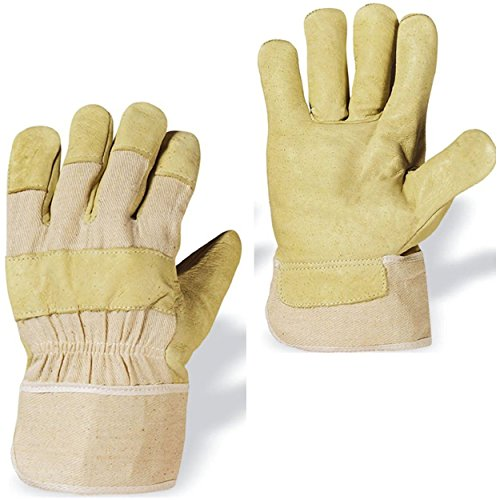 88-pawa-taglia-9-guanto-pelle-maiale-giallo-chiaro-imbottitura-interno-in-cotone-elevata-flessibilit