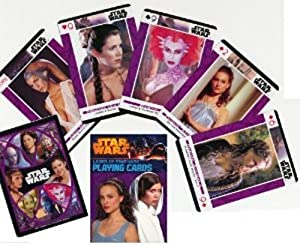 Ladies of Star Wars Poker Playing Cards - 1 Deck