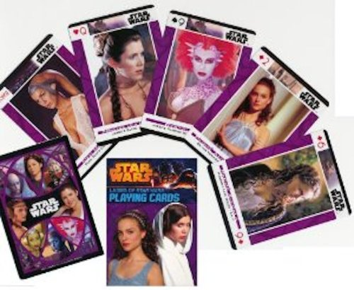 Ladies of Star Wars Poker Playing Cards - 1 Deck - 1
