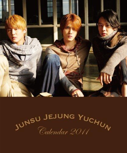 卓上 JUNSU JEJUNG YUCHUN 2011年 カレンダー