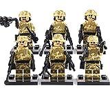 特殊部隊 TANカラー camo 6体武器セット レゴカスタムキット [並行輸入品]