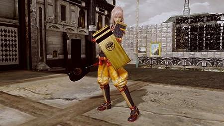 ライトニング リターンズ ファイナルファンタジーXIII 初回限定特典DLC「FINAL FANTASY VII」ソルジャー1st(ウェア・武器・盾3点セット)同梱&Amazon.co.jpオリジナル特典DLC和風甲冑衣装付き