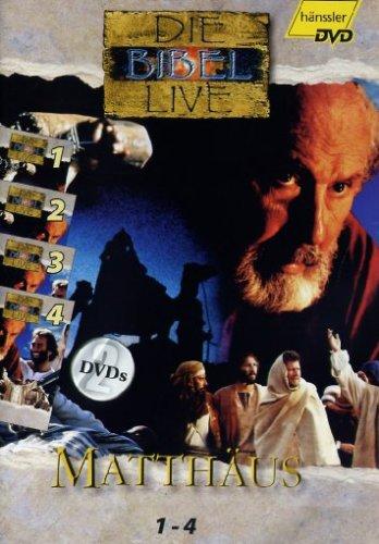 Die Bibel Live - Matthäus 1-4 [2 DVDs]