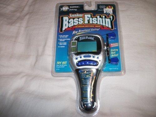 Radica-Lunker Bass Fishin'1997 Electronic Game