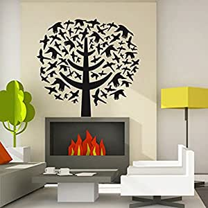 art decals decor removable sticker for bedroom living room dining room