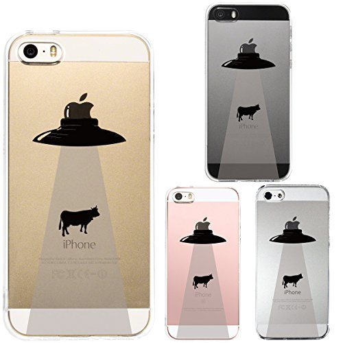 Iphone Se Iphone5s /5 Shell Case Anti-Scratch Clear Back for Iphone Se Iphone 5s /5 Ufo Apple Alien Cattle Mutilation (Iphone 5s Body Space Gray compare prices)