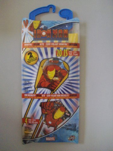 Iron Man Minifoil Nylon & Mylar 2 Kite Set