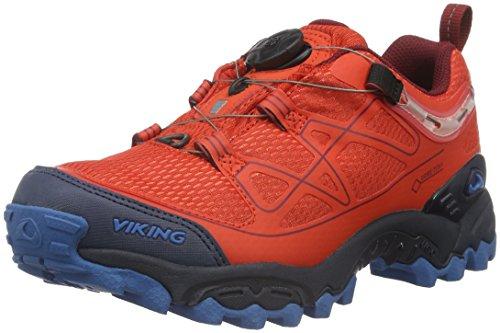 VikingAnaconda Boa IV - Scarpe da trekking e da passeggiata Unisex - Adulto , Rosso (Rot (Red/Navy 1005)), 44