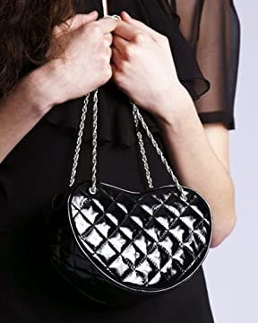 Quilted Heart Bag By Tara Subkoff