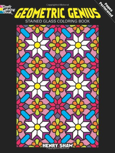 geometric-genius-stained-glass-coloring-book-dover-design-coloring-books