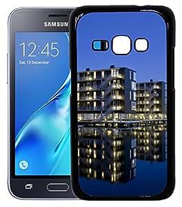 Enlinea Printed 2D Designer Hard Back Case For Samsung Galaxy J1(2016) -10490
