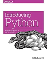 Introducing Python: Modern Computing in Simple Packages Front Cover
