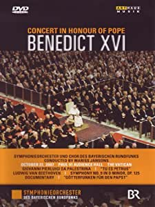 Concert in Honour of Pope Benedict XVI [DVD Video] [Import]