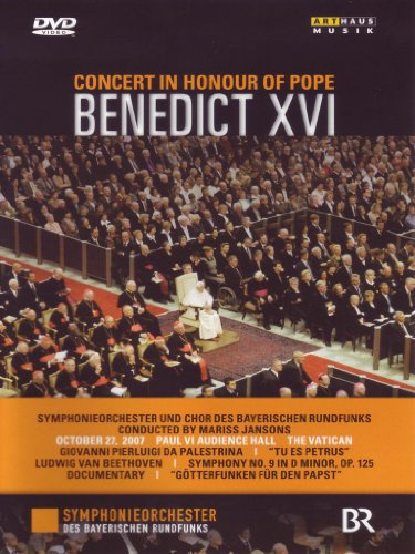 Concert in Honour of Pope Benedict XVI [DVD Video]