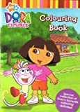 Dora The Explorer A4 Colouring Book