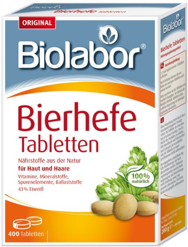 Appetitanreger Bierhefe Tabletten