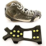 designgoods® Schuhspikes Schneeschuhe Universalgröße 36 - 46 Eiskrallen Schuhkrallen Spikes