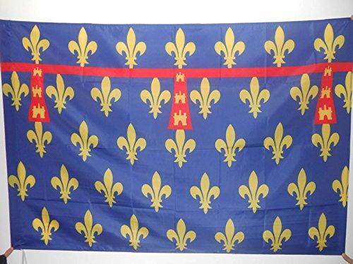 DRAPEAU COMTÉ D'ARTOIS 150x90cm - DRAPEAU PROVINCE FRANCE - ARRAS 90 x 150 cm Fourreau pour hampe - AZ FLAG