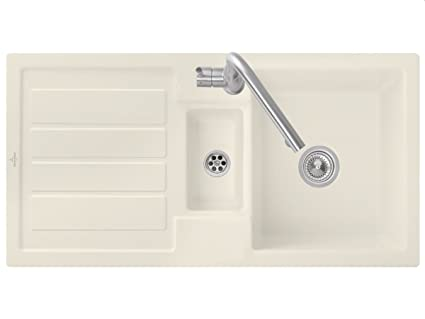 Villeroy & Boch Flavia{60} Ivory Beige cerámica-fregadero lavabo fregadero de cocina