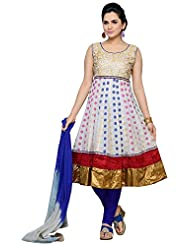 Roopali Creations Women's Chanderi Silk Salwar Suit Set - B013SVM2WG