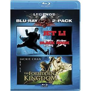 Black Mask & Forbidden Kingdom [Blu-ray]